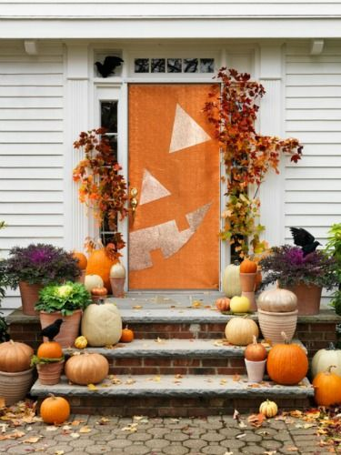 Homemade Halloween Decoration Ideas - Homemade Halloween Decoration at WomansDay.com - Woman's Day