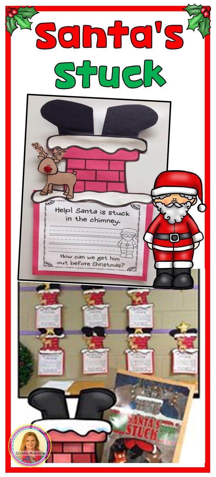 Santa's Stuck Christmas Craft