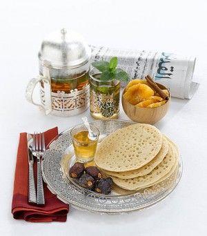 La crepes ai mille buchi è un classico immancabile nella colazione marocchina...
