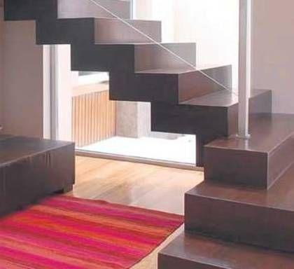 M s de 1000 ideas sobre barandas para escaleras en - Pisos de microcemento ...