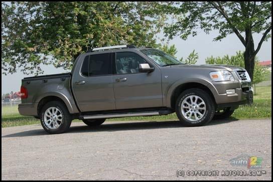Ford Explorer truck