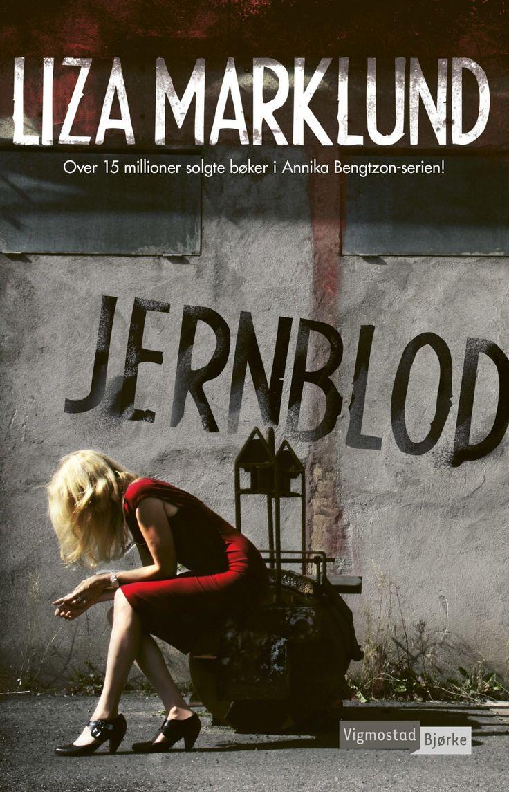 """Jernblod"" av Liza Marklund. 24.06.2016"