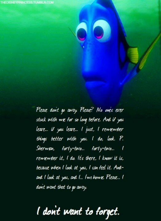 When I look at you i'm home - Dory
