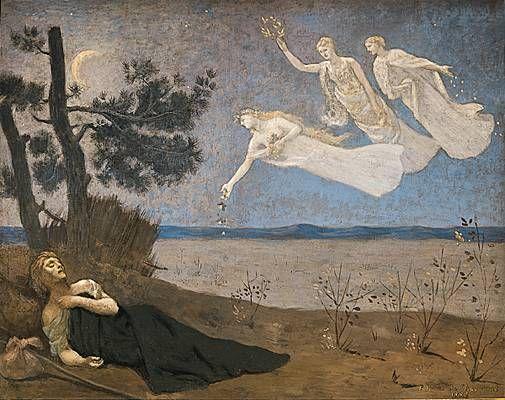 Le rêve, Pierre Puvis de Chavannes