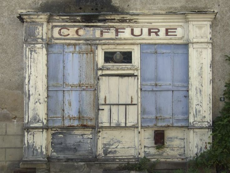 Vintage French Storefront in La Coquille
