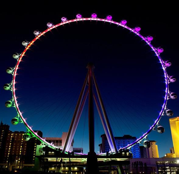 World's Tallest Observation Wheel to Welcome First Ticketed Passengers in Las Vegas March 31 - (Photo credit: Denise Truscello / WireImage / www.DeniseTruscello.net). http://www.vegasnews.com/112909/worlds-tallest-observation-wheel-to-welcome-first-ticketed-passengers-march-31.html
