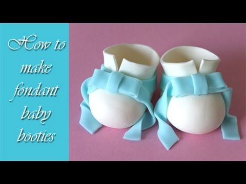 Tutorial on how to make fondant baby shoes for a cake topper. You can use them for example on a baby shower cake or a baptism cake. Tutorial jak zrobić bucik...