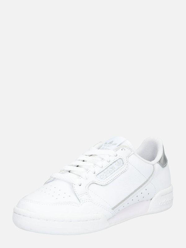 ADIDAS ORIGINALS Sneaker 'Continental 80' in silber weiß