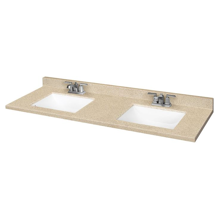 Double Bathroom Vanity Tops Solid Surface : Product image bathroom ideas pinterest