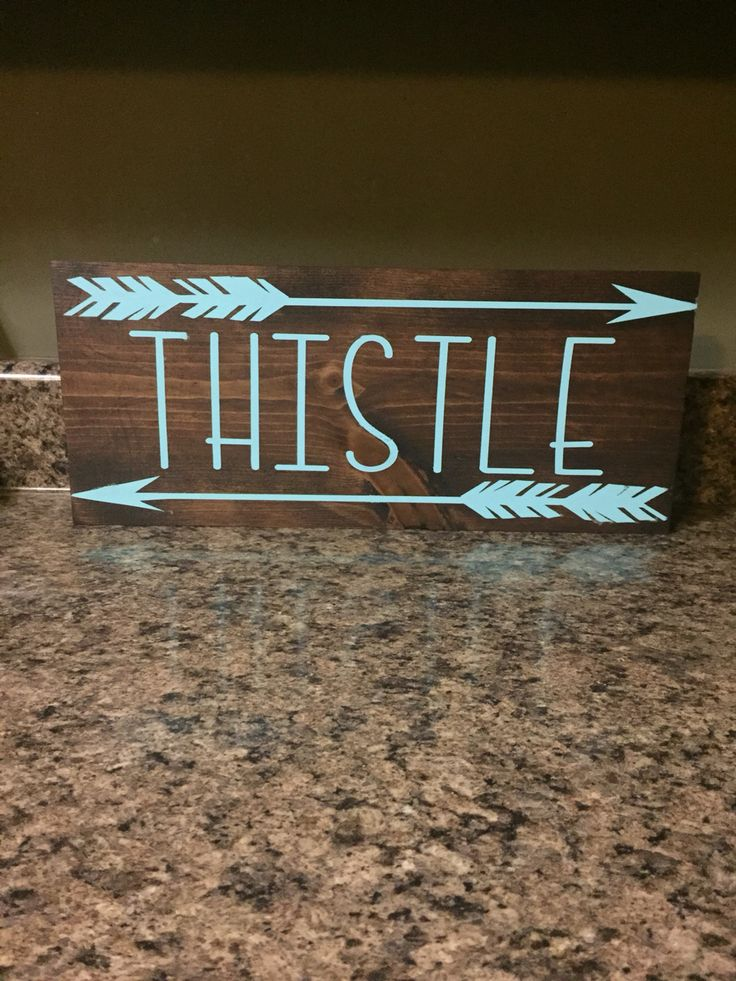 Custom last name sign from peapiesigns name signs last