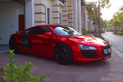 Audi R-10 -- I could hyperventilate!!  Some where's along Florida west coast,  she drives full speed!!  in my dreams....