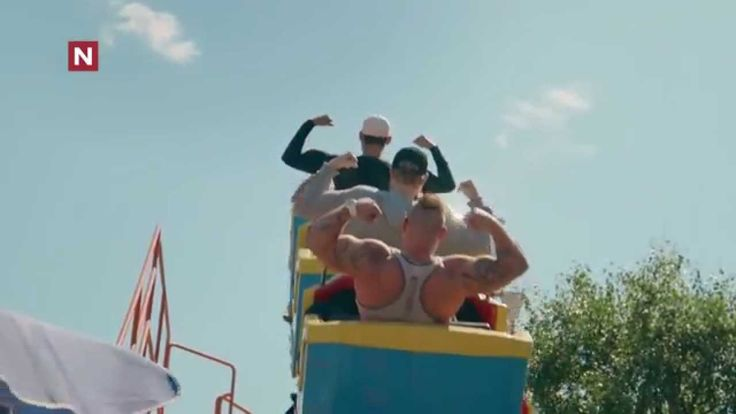 Norwegian body builders visit a tiny town to make themselves feel bigger