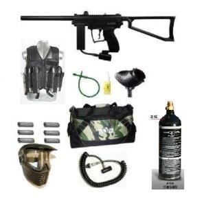 Spyder Paintball MR1 Gun GXG Tac Vest Sniper Set (Black) (Sports)  http://best-paintball-gun.com  B004VJQ5YG