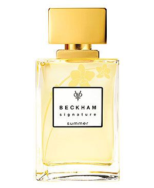 Signature Summer for Her David & Victoria Beckham perfume - a fragrance for women 2011, frangipani, lily, freesia etc.