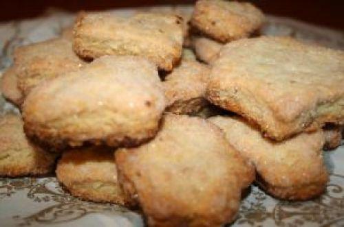 Песочное печенье в микроволновке