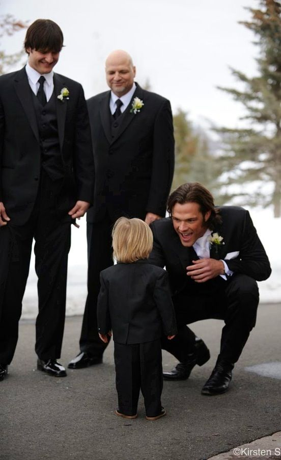 Genevieve Cortese And Jared Padalecki Wedding Is So Cute With Little Kids
