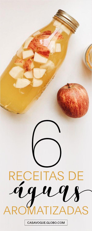 Aprenda como fazer águas aromatizadas com frutas variadas!