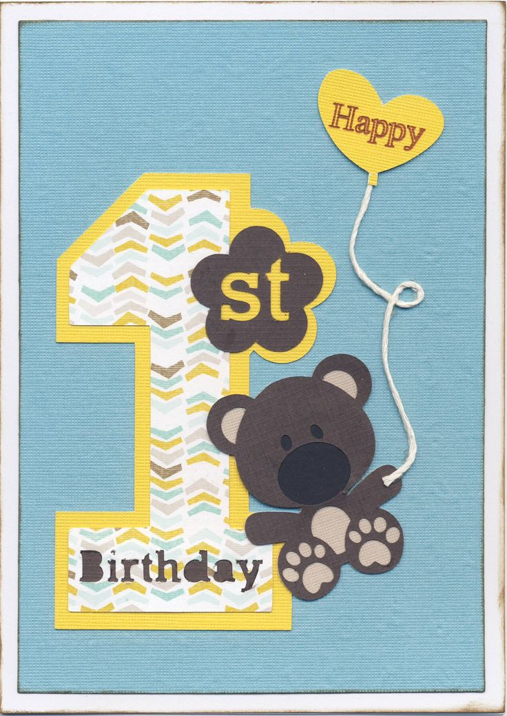 Best 25 First birthday cards ideas – Birthday Cards Pinterest