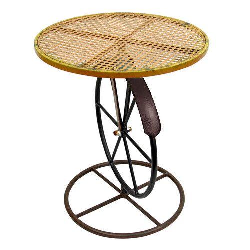 Round Marigold Round Garden Table