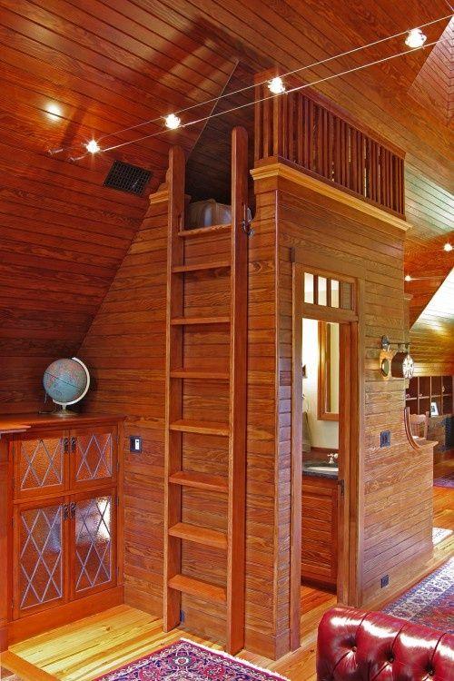 Pin by Caren Cramer on Home  Loft Ladder  Tiny house