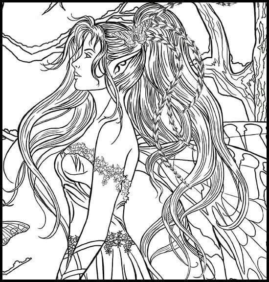 165 best Fairie coloring pages images on Pinterest Coloring books - best of fairy ballerina coloring pages