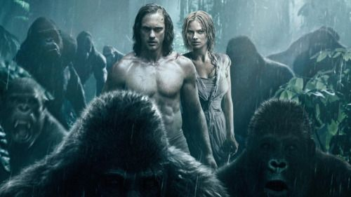 I just watched The Legend of Tarzan (2016)
