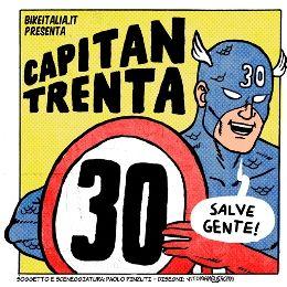 Scende in strada Capitan Trenta, il supereroe (trash) della Mobilità Nuova
