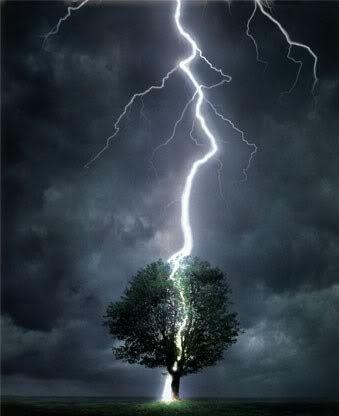 #LightningStrikes