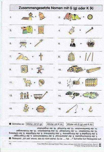 - Arbeitsblätter und Materialien