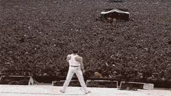 The Freddie Mercury effect…amazing