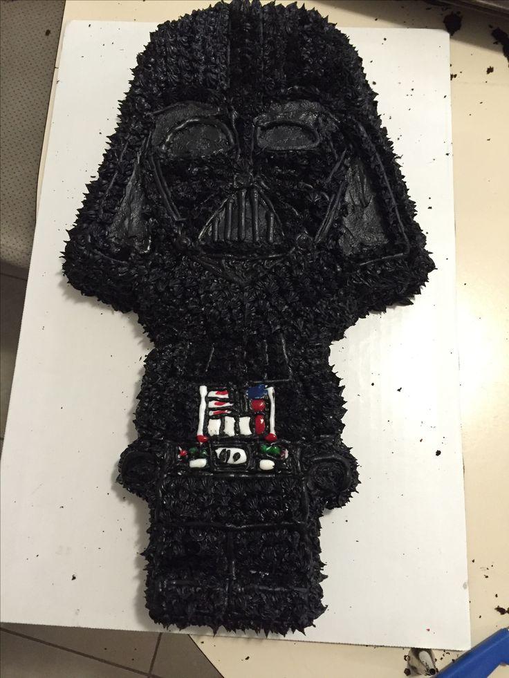 Darth Vader lego cake