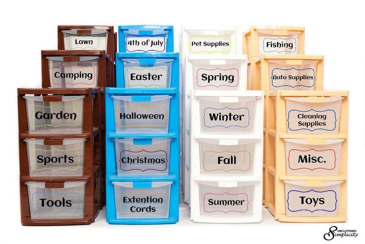 Free Printable Garage Bin Labels That Will Make You Look