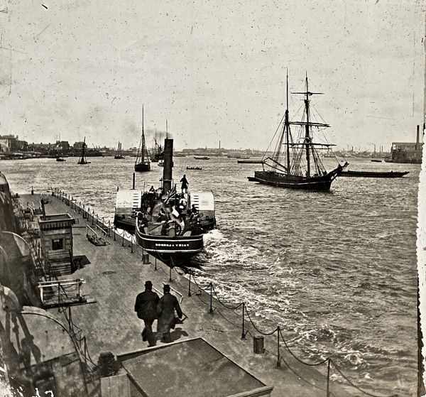 Greenwich pier, c. 1920