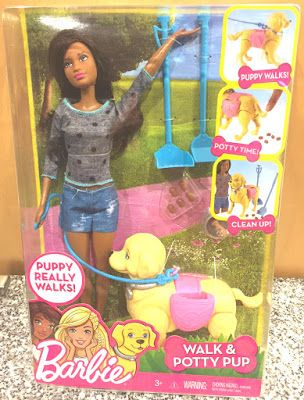 Toy Deals for Charity: Barbie / Potty Pup toy deal arrived today