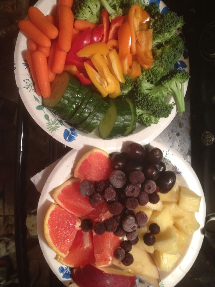 Fruit and Veggie Tray