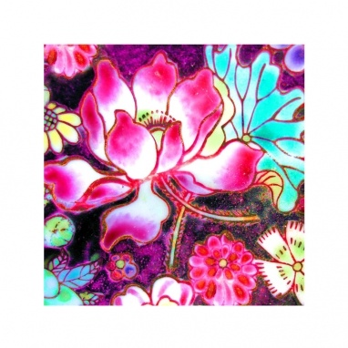 Antique Fragment Nonya Lotus by Anna Chandler