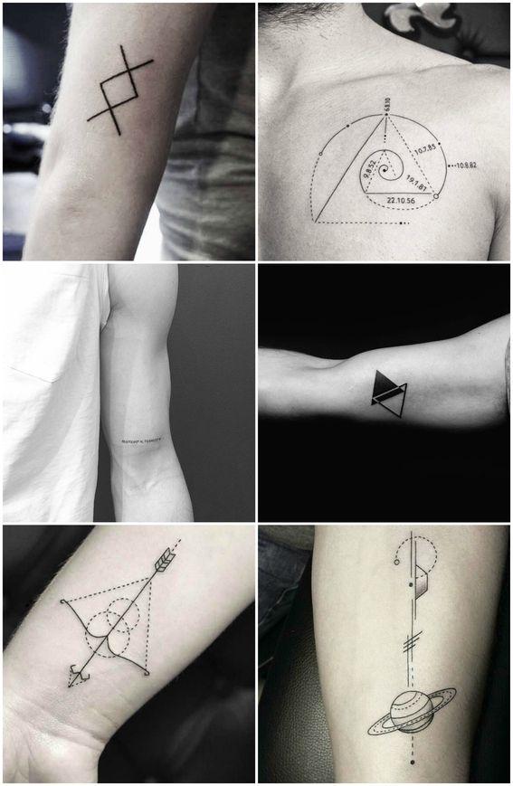 24 Tatuajes Minimalistas Para Los Hombres Que No Le Temen A La