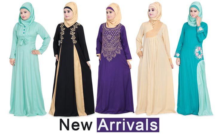 New Arrivals Rayon Abaya by Zet Zone