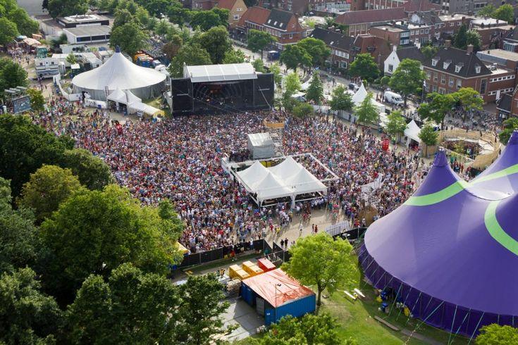Luchtfoto Zomerparkfeest