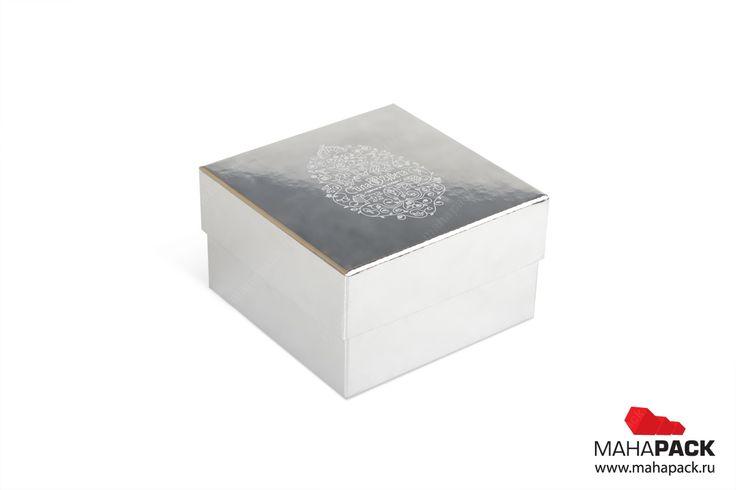 Кашированная коробка крышка-дно для цветов под заказ   Коробки под цветы   Mahapack.ru - изготовление индивидуальной упаковки