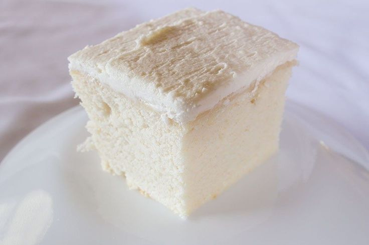 White cake with white buttercream icing, good enough to use for a wedding cake, easy enough to make just because you need cake in your life. PearTreeKitchen.com