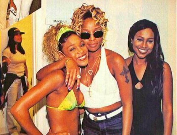 T-Boz, Mary J Blige & Maia Campbell