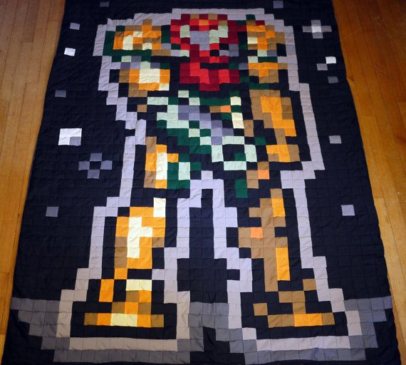 Metroid Samus Power Suit by 8bitHealey on Etsy, $189.00
