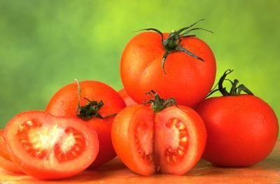 ... tomato plants. (also recently read that baking soda in tomato soil