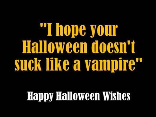 Funny Halloween Message