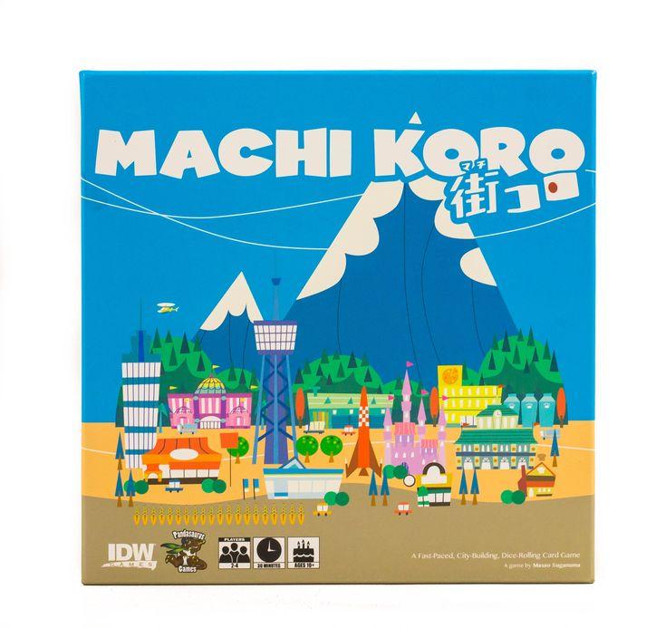 Kezdetnek a látványvilág és a városépítős tematika miatt szereztem be a Machi Korot. Most viszont nagyon örülök, hogy elő tudom kapni az angolozáshoz. Mintha Ende színektől áradó mesevilága elevenedne meg a Noboru Hotta által megálmodott kis univerzumban, enyhén minimalista stílussal, franciás lezserséggel.#MachiKoro #tarsasjatek #csaladijatek