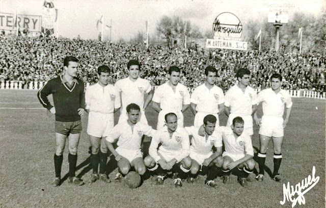 SEVILLA C.F. - 1955