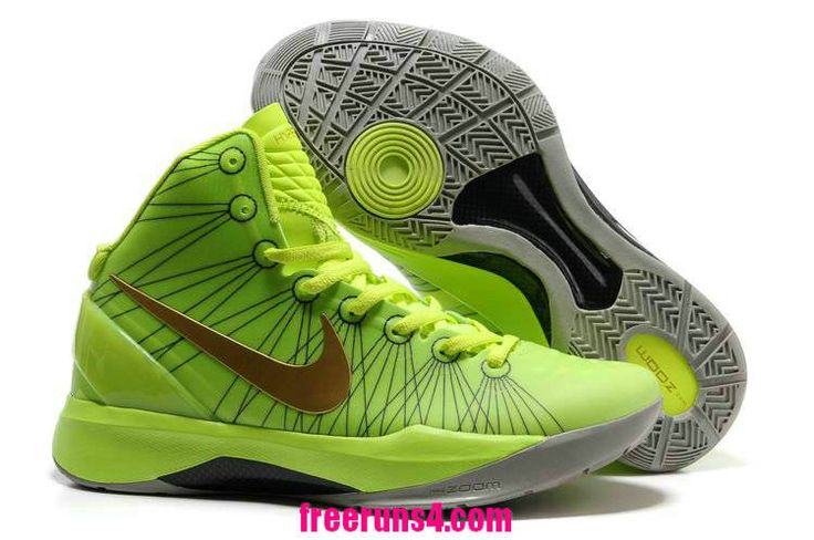 Cheap Nike Zoom Hyperdunk 2012 Elite Volt Green Gold 511369 039 Basketball  Shoes Sale 2013 Outlet