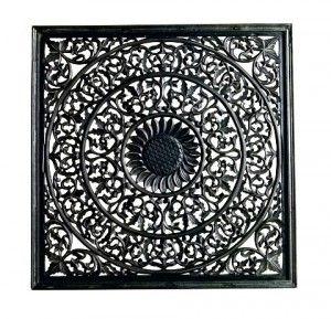 Röd patinerad plåthylla, Trademark Living - Möbler   SPITI - Skön inredning - Marockansk orientalisk indisk fransk provence i MOOD