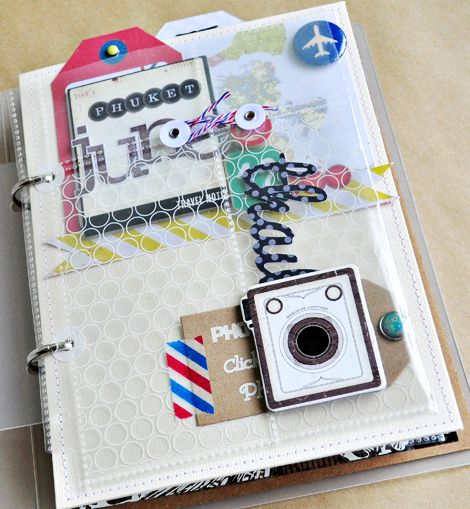 mini travel journal: Sasha Flour, Minis Book, Fun Travel, Travel Journals, Minis Album, Minis Travel, Minialbum, Http Scrapbookphoto With 13Faq, Travel Minis